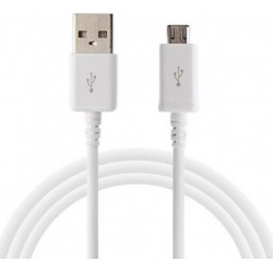 Samsung USB 2.0 to micro USB Cable 1.2μέτρα Λευκό